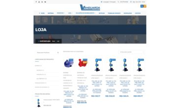 Nova Loja Virtual Vanguarda Comercial em Breve